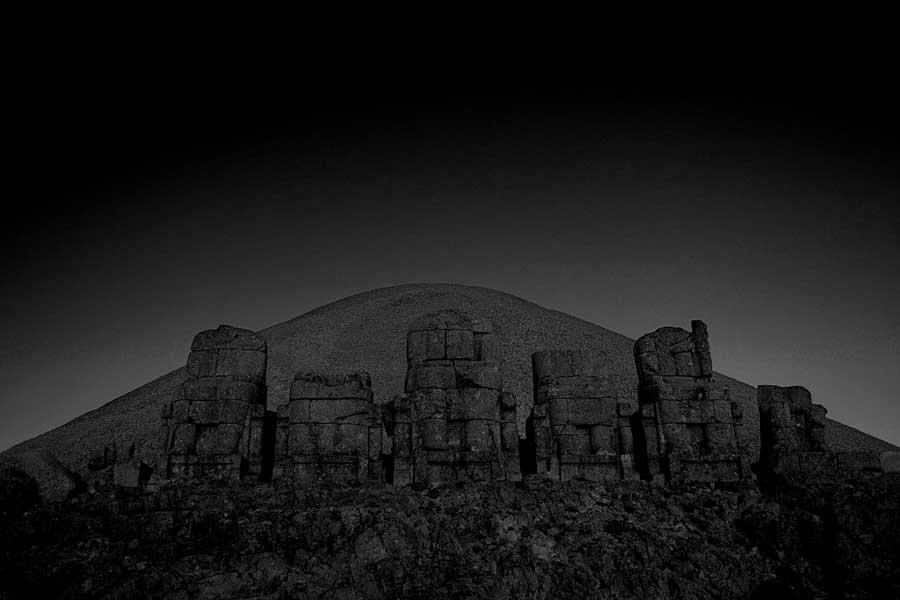 Adıyaman Nemrut Dağı Milli Parkı Nemrut heykelleri fotoğrafları - Sculpts, Mount Nemrut National Park photos, Turkey