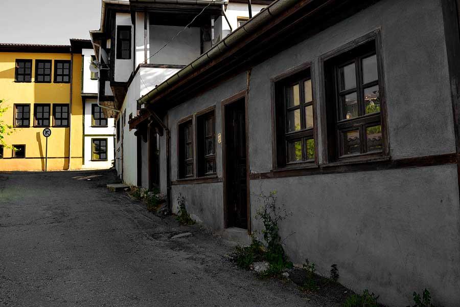 Orta Anadolu Eskişehir Odunpazarı fotoğrafları - Central Anatolia region Eskisehir Odunpazari historical houses photos
