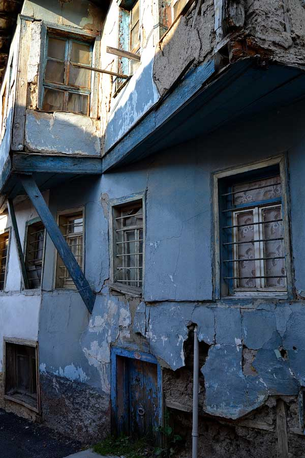 Orta Anadolu Eskişehir Odunpazarı tarihi evleri fotoğrafları - Central Anatolia Odunpazari historical houses photos