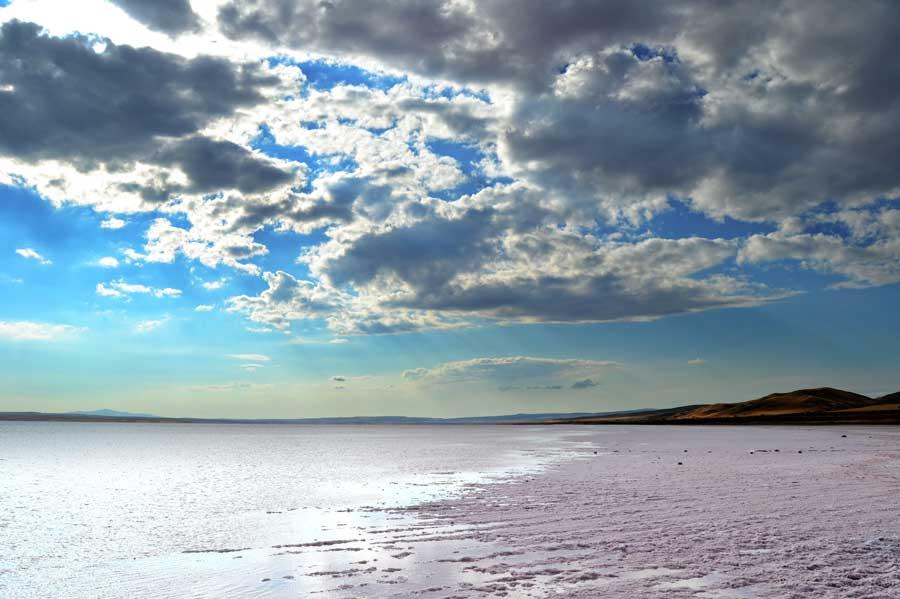 Orta Anadolu Tuz gölü fotoğrafları Ankara - Turkey Central Anatolia Salt lake photos