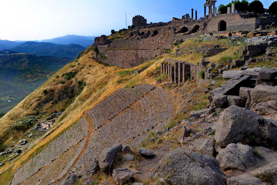 Pergamon Antik Kenti, Bergama - (Pergamon ancient city)
