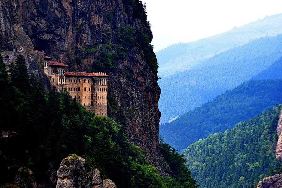 Sümela manastırı fotoğrafları - Sumela monastery photos