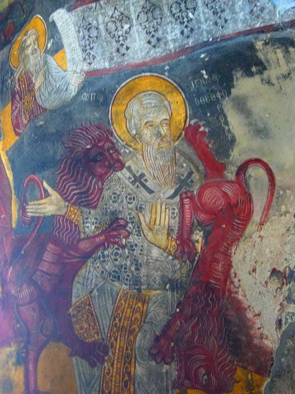 Sümela manastırı freskleri detayları ve renkleri, Sümela manastırı fotoğrafları - details, Sumela monastery photos
