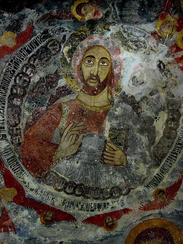 Sümela manastırı freskleri ve detayları, Sümela manastırı fotoğrafları - blessed, Sumela monastery photos