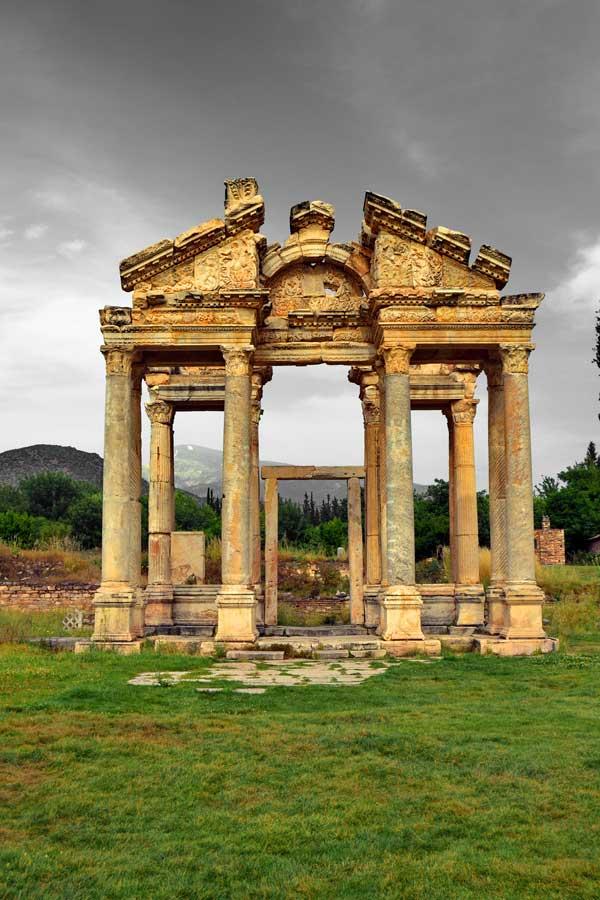 Tetrapylon Afrodisias antik kenti - Tetrapylon, Aphrodisias ancient city photos