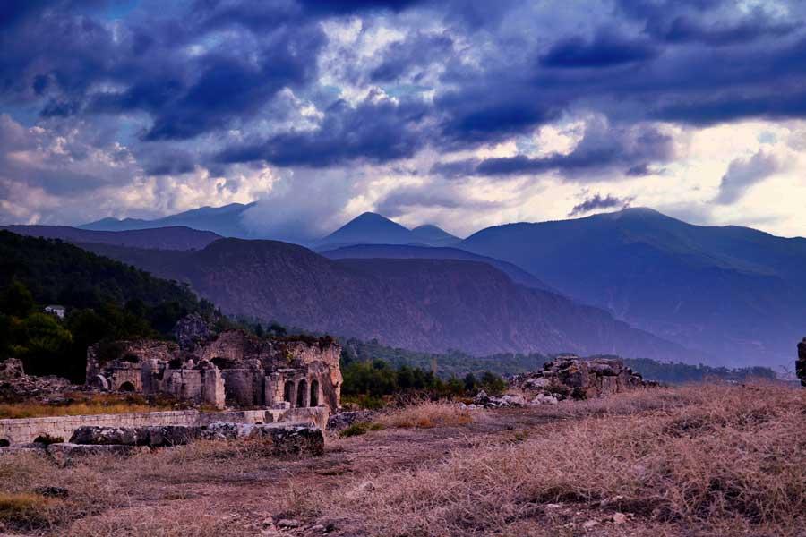 Tlos Antik Kenti, Tlos fotoğrafları, Fethiye Muğla - Tlos Ancient City Photos