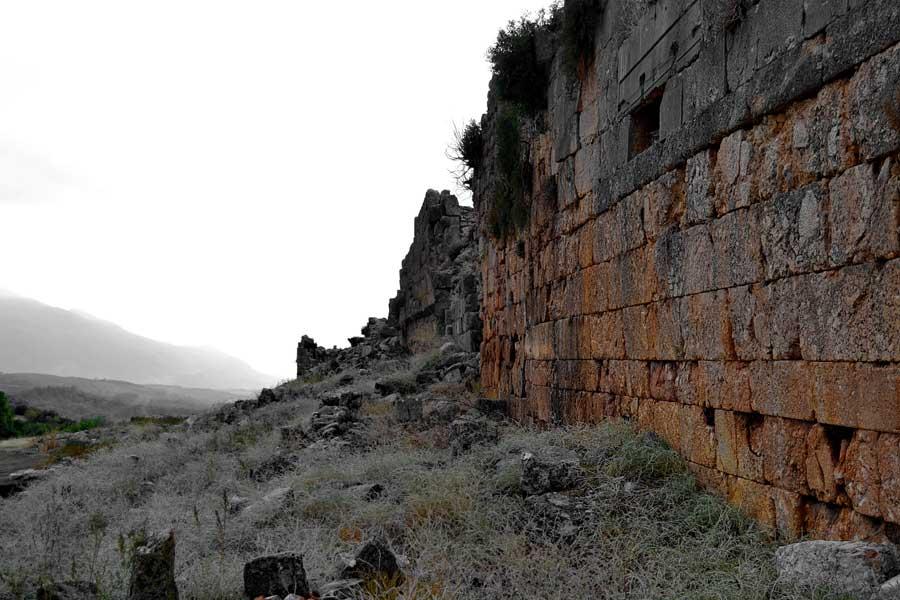 Tlos antik kenti, Roma Stadyumu, Fethiye Muğla fotoğrafları - Roman stadium, Tlos ancient city photos