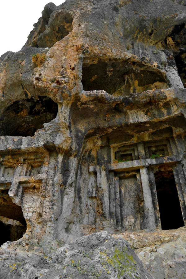 Tlos antik kenti kaya mezarları, Muğla Fethiye fotoğrafları - Monumental rock tombs, Tlos ancient city photos