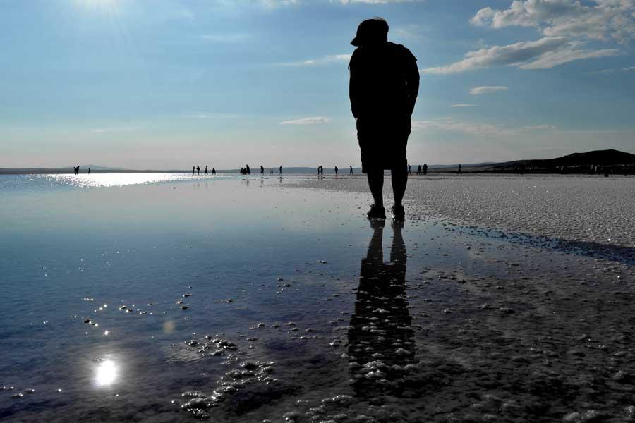 Tuz gölü fotoğrafları - Turkey Central Anatolia, Salt lake beach