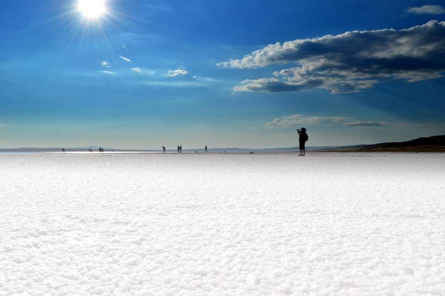 Tuz gölü fotoğrafları - Turkey Central Anatolia Salt lake photos