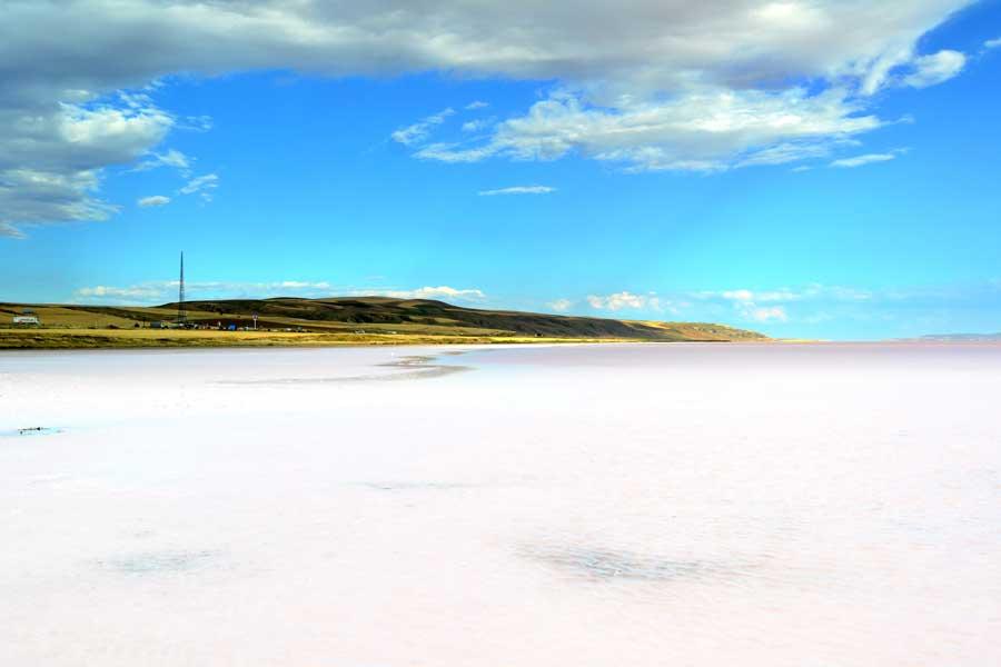 Tuz gölü fotoğrafları ve Ankara Aksaray yolu - Turkey Salt lake and Ankara to Aksaray highway