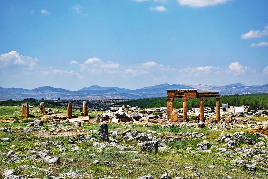 Uşak Blaundus antik kenti fotoğrafları, Ege bölgesi gezilecek yerler - Turkey Aegean region Blaundus ancient city photos