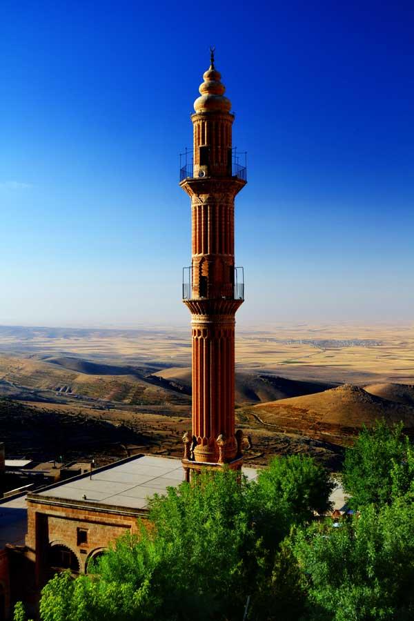 Ulu cami arkasından Mezopotamya ovası, Mardin fotoğrafları - Southeastern Anatolia, view of Mesopotamia plain behind Ulu mosque, Mardin photos