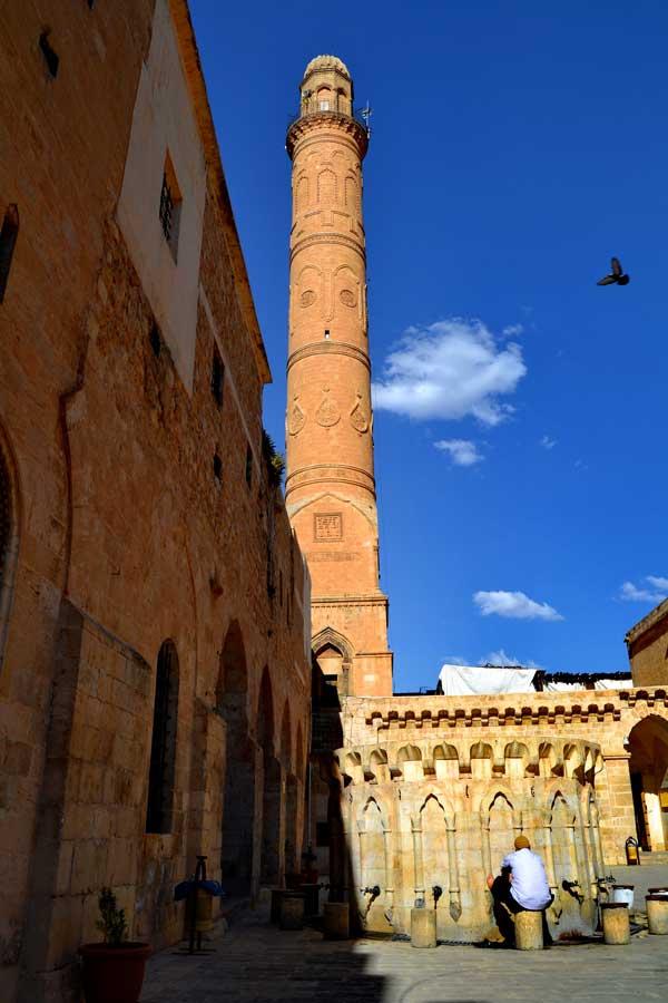 Ulu cami avlusu, Mardin fotoğrafları - Ulu mosque courtyard, Southeastern Anatolia Mardin photos