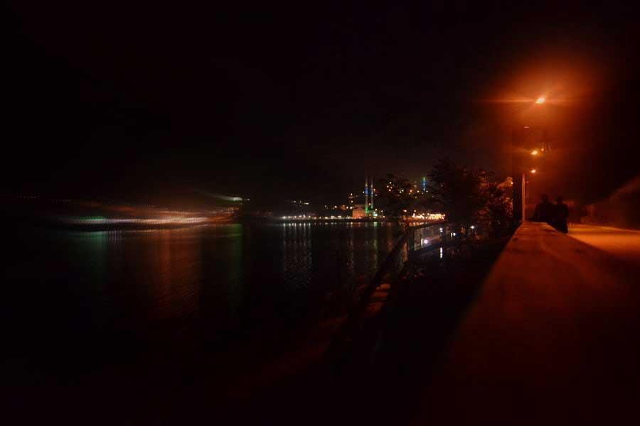 Uzungöl gece fotoğrafı, Uzungöl fotoğrafları - lake and the night, Uzungöl photos