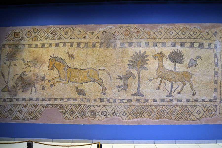 Zeugma Mozaik Müzesi fotoğrafları, Yarımca Bağtepe Sarıdere Mozaiği - Yarımca, Bağtepe Sarıdere Mosaic, Zeugma Mosaic Museum