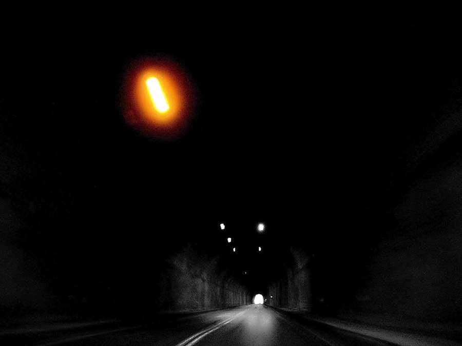 Zigana geçidi tünelinin içinde ışığı kovalarken, Zigana tüneli fotoğrafları - while chasing the light in the tunnel, Zigana tunnel photos