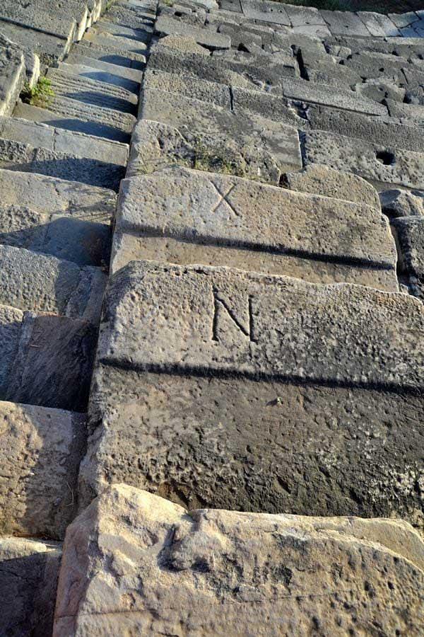 Antik Roma tiyatrosu, Milet antik kenti fotoğrafları - ancient Roman theatre, Miletus ancient city photos