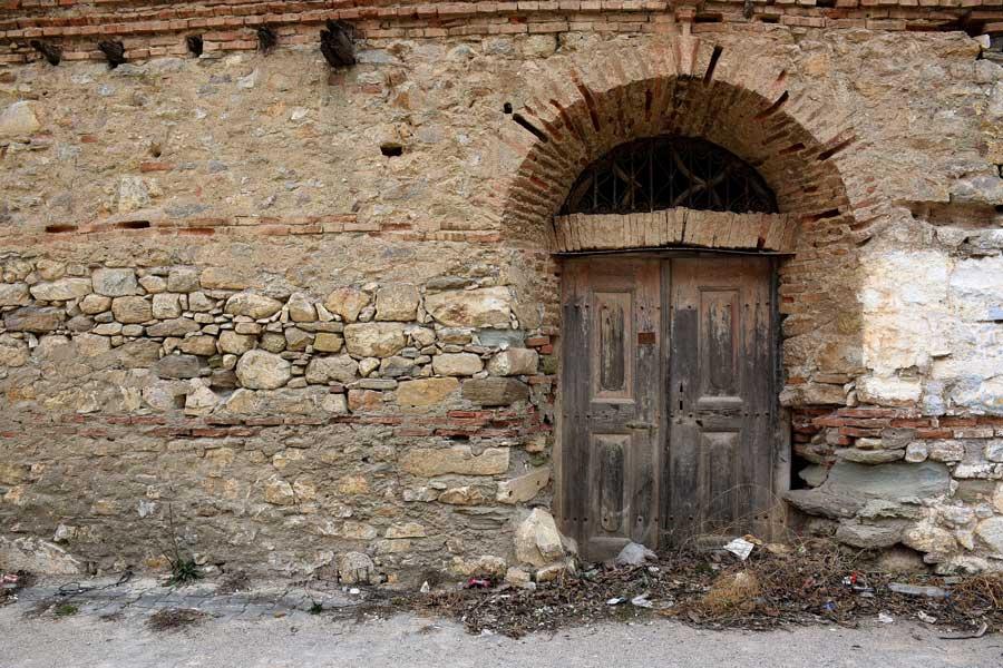 Çanakkale Kemer köyü Biga ilçesi Rum evleri - Greek house, Kemer village Biga district