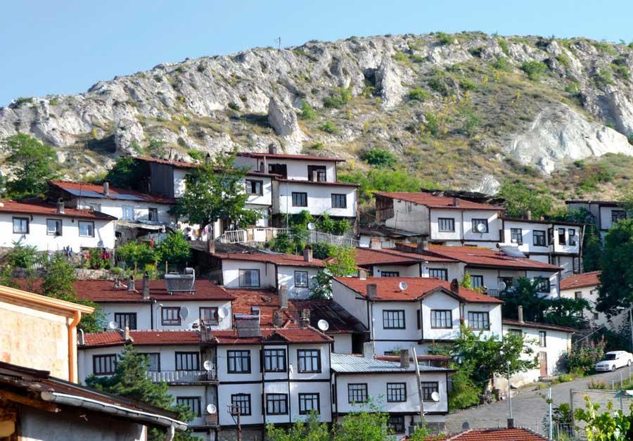 İç Anadolu Güzergahı Uzaktan Beypazarı - Central Anatolia route Beypazarı in a distance