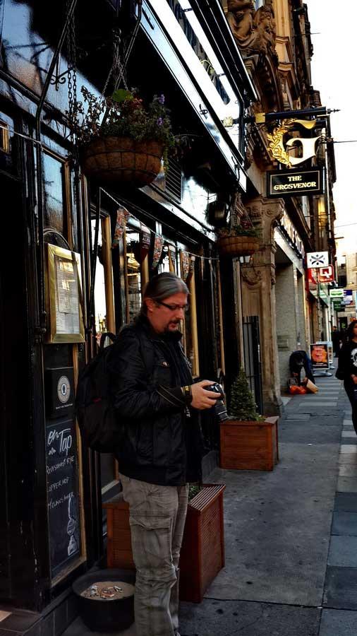 İngiltere güzergahı fotoğraf karelerinin peşinde edinburgh sokaklarında - England route following the snapshots on the Edinburgh streets