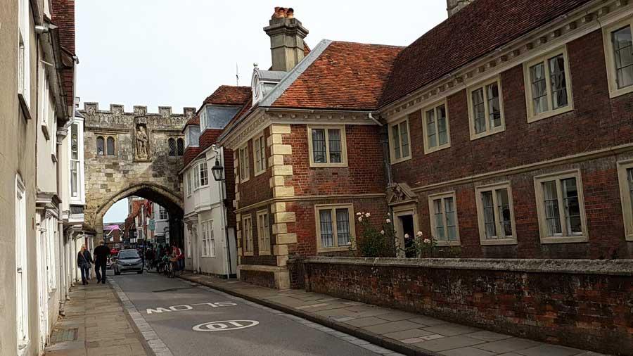 İngiltere rotası Ortaçağa geri dönüş Salisbury - England route back to medieval Salisbury