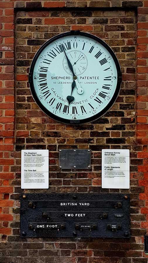 İngiltere rotası dünyanın saatinin ayarlandığı yer Greenwich - England route the place where all the clocks are set the shepherd 24 hour gate clock, Greenwich royal observatory