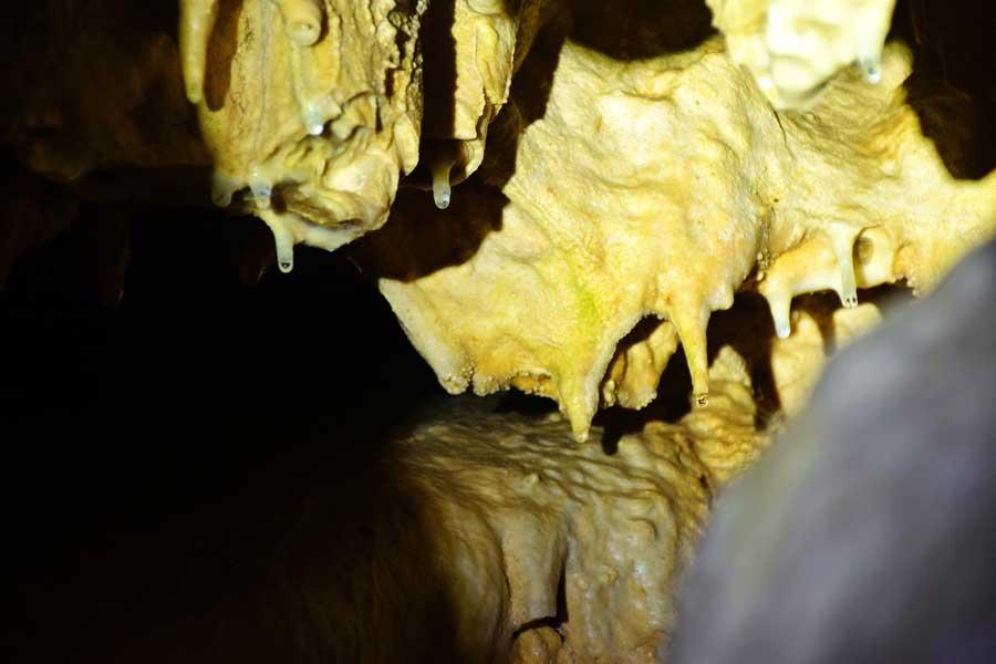 İnsuyu mağarası fotoğrafları sarkıt oluşumu - Turkey Insuyu cave stalactite formation