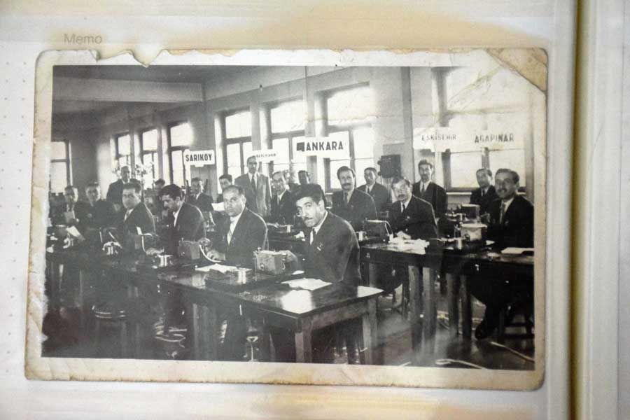 İstanbul Demiryolu Müzesi, Demiryolcuların kıymetli hatıraları - Journal of railway workers including precious memories of those who worked in Turkish Railways, Istanbul Railway Museum