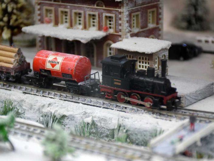 İstanbul Demiryolu Müzesi Naci Gürbüz tarafından hediye edilen tren maketi - Train model given by Naci Gürbüz, Istanbul Railway Museum