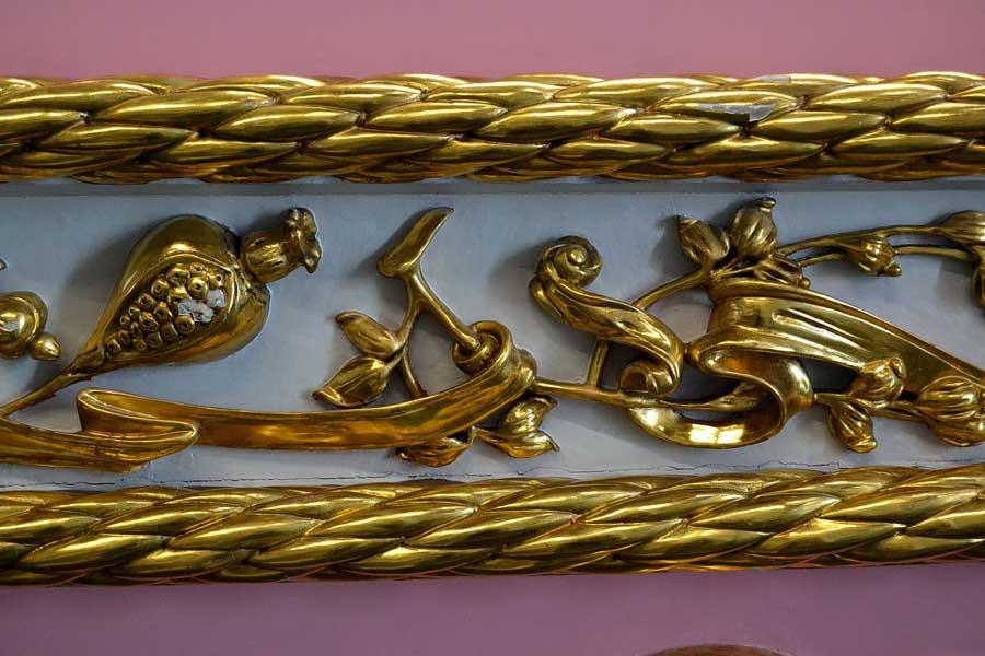 İstanbul Deniz Müzesi Osmanlı saltanat kayıkları işçiliği - workmanship of Ottoman royal boats, Istanbul Naval Museum photos