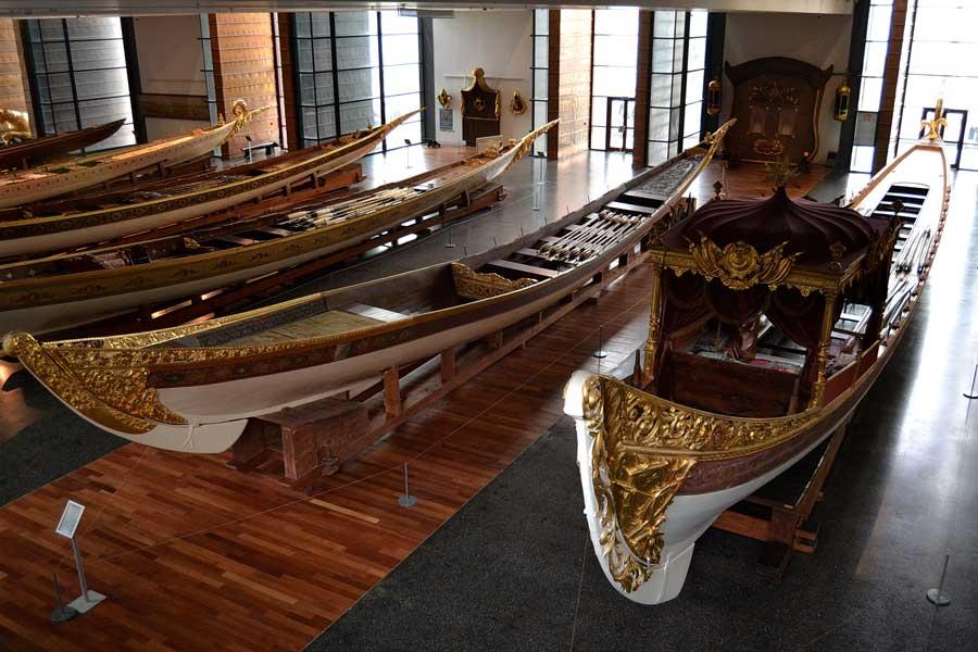 İstanbul Deniz Müzesi fotoğrafları Osmanlı saltanat kayıkları - Ottoman royal boats Istanbul Naval Museum photos