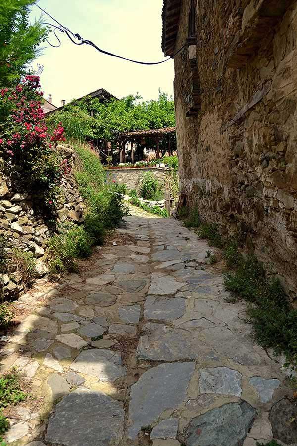 Şirince Denizli güzergahı fotoğrafları taş sokaklarda hayat - Sirince Denizli route photos life on the cobble stone streets