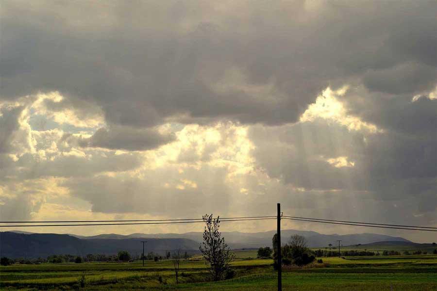 Şirince Denizli güzergahı fotoğrafları takip eden bulutlar - Sirince Denizli route photosclouds accompany us