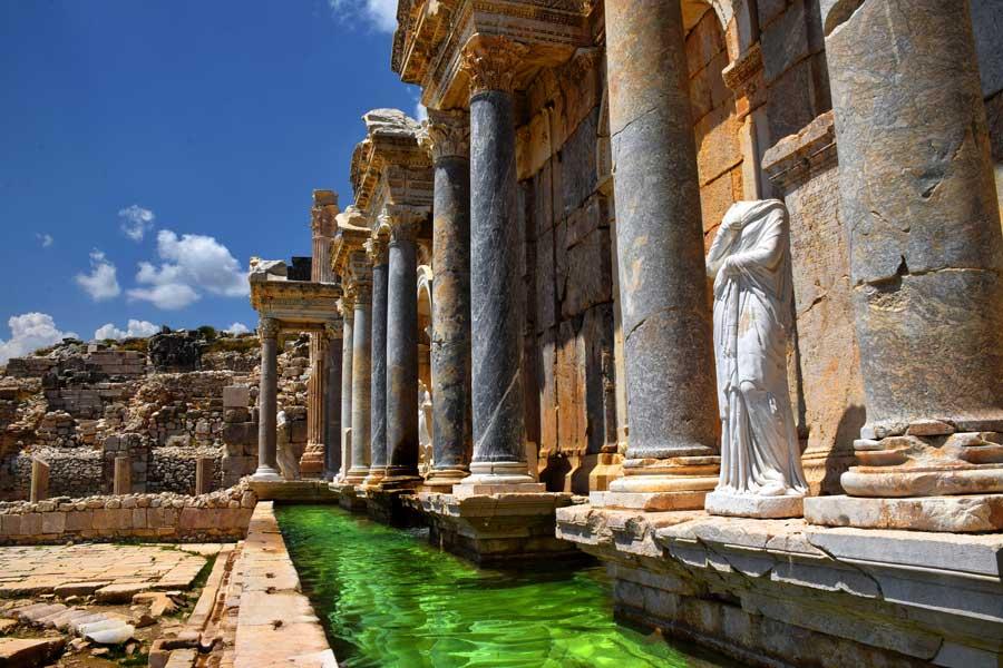 Sagalassos Antik Kenti ve Antoninler Çeşmesi