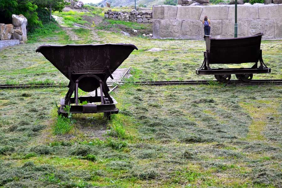 Alacahöyük müzesi bahçesi ve Alacahöyük orthostat kabartmaları, Çorum - Turkey Alacahöyük museum garden and orthostat's reliefs