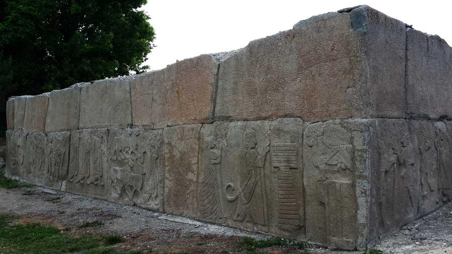 Alacahöyük orthostatları ve kabartmaları, Çorum - Turkey Alacahöyük orthostats and reliefs, Turkey