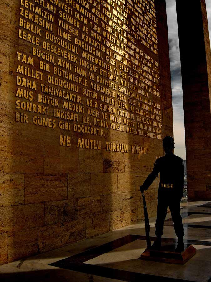 Anıtkabir fotoğrafları, Ne mutlu Türküm diyene - how proud to say i am Turk, Ataturk's Mausoleum photos