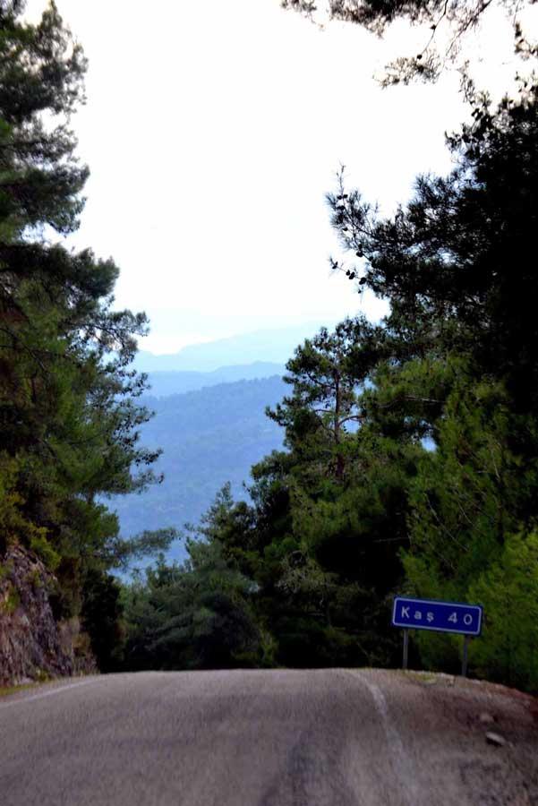 Ankara Kaş güzergahı Kaş'a yaklastik - Ankara Kas route, we are near Kas