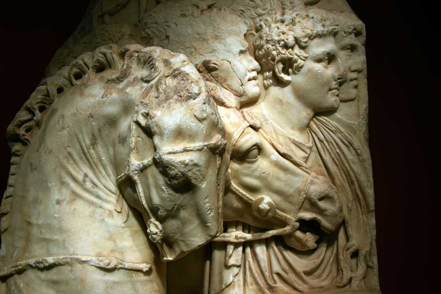 Antalya Müzesi fotoğrafları Lahitler salonu eserleri - Antalya Museum photos Sarcophagus Hall historical artifacts