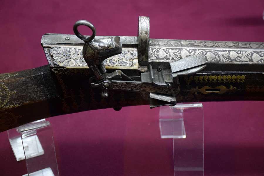 Askeri Müze fotoğrafları Çakmaklı Metris Tüfeği 18.yy. - Flintlock Trench Rifle 18th Century, Military Museum