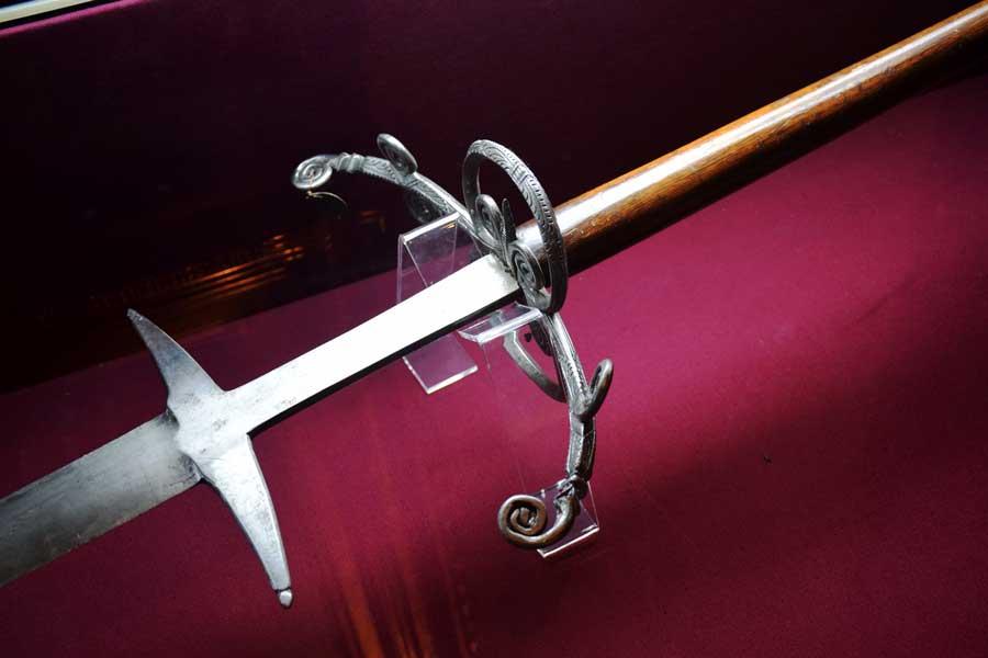 Askeri Müze fotoğrafları Çift el epesi, 17.yy. - Istanbul Military Museum Double handed sword 17th century