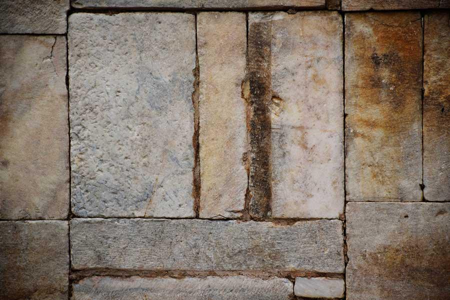 Biga Parion antik kenti Kemer Taş işçiliği - masonry, Turkey Parion ancient city
