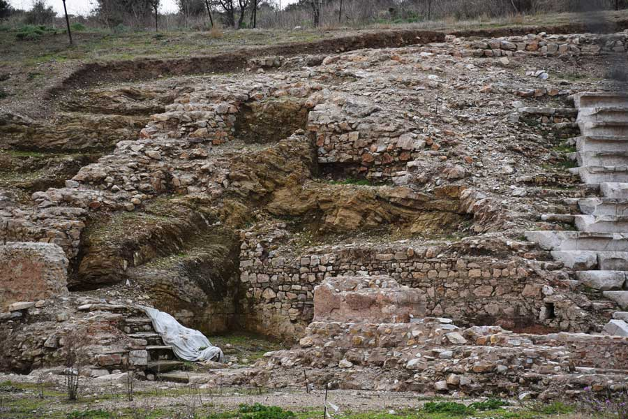 Biga Parion antik kenti fotoğrafları Odeion - Odeon, Marmara region Parion ancient city