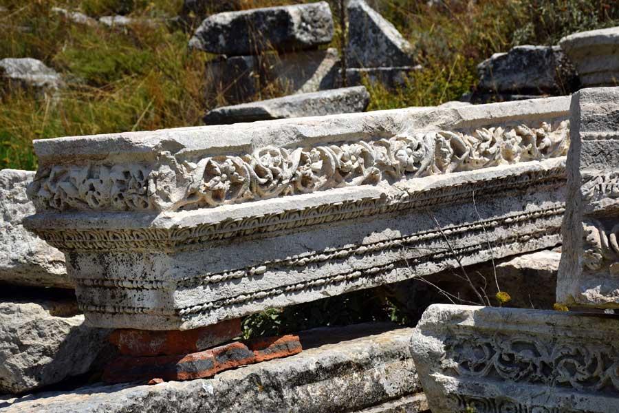 Burdur Ağlasun Sagalassos antik kenti kalıntıları - ruins of Sagalassos ancient city