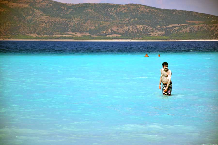 Burdur gezilecek yerler Salda gölü fotoğrafları Akdeniz bölgesi - Turkey the Mediterranean region Salda Lake photos