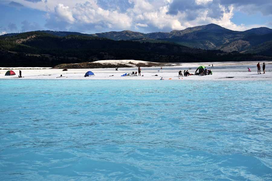 Burdur gezilecek yerler Salda gölü - the Mediterranean region Salda Lake
