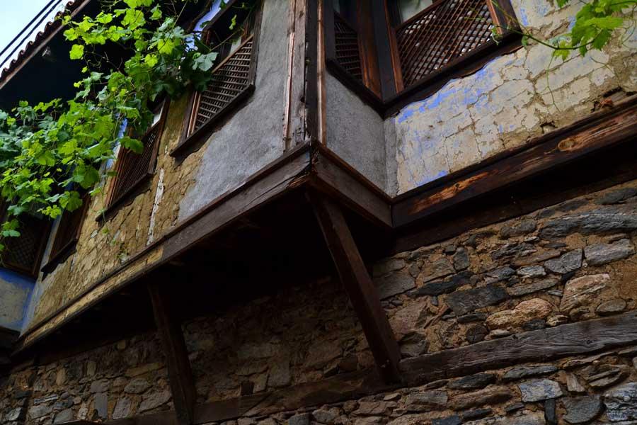 Bursa Cumalıkızık fotoğrafları tarihi geleneksel Cumalıkızık köyü evleri Marmara bölgesi - Historical typical Cumalikizik Village houses photos