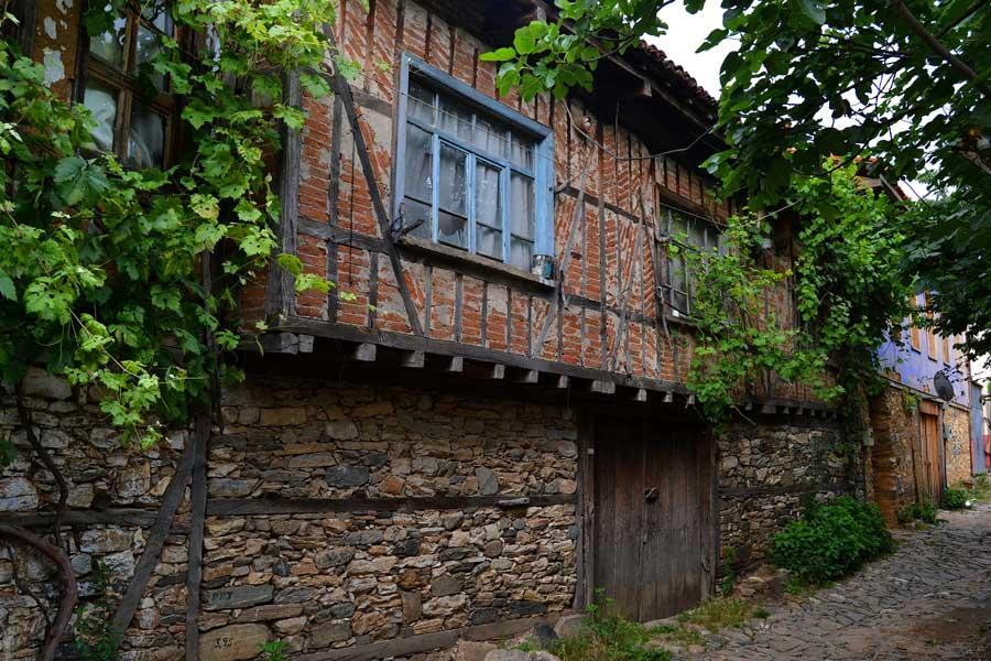 Cumalıkızık fotoğrafları, tarihi geleneksel Cumalıkızık köyü evleri Marmara bölgesi Bursa - Bursa, historical typical Cumalikizik Village houses