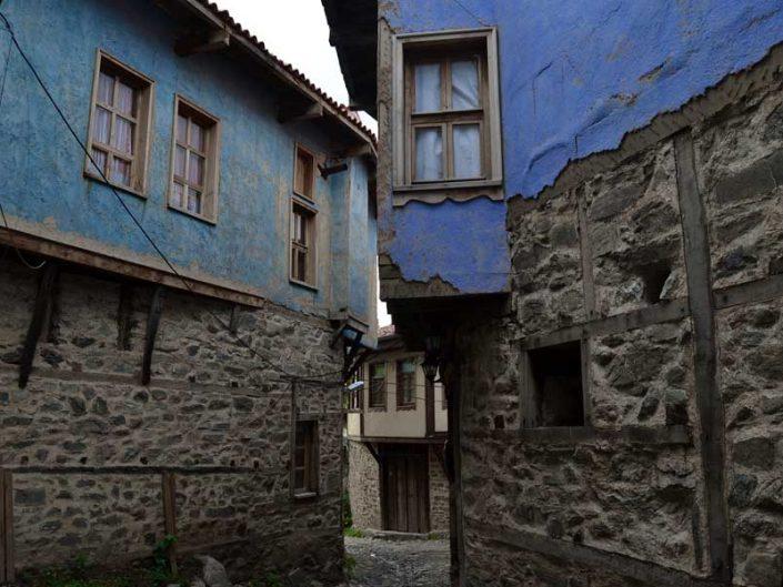 Cumalıkızık fotoğrafları, tarihi geleneksel Osmanlı evleri, Cumalıkızık köyü evleri Marmara bölgesi Bursa - Historical typical Cumalikizik Village houses